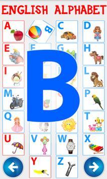 Английский алфавит. Учим буквы screenshot 8