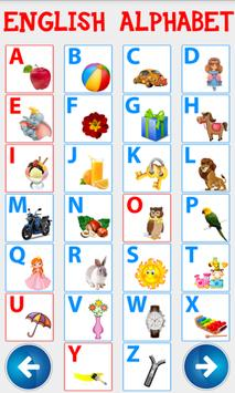 Английский алфавит. Учим буквы screenshot 23