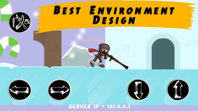 Modern Combat: Stickman Paintball | wifi hotspot screenshot 11
