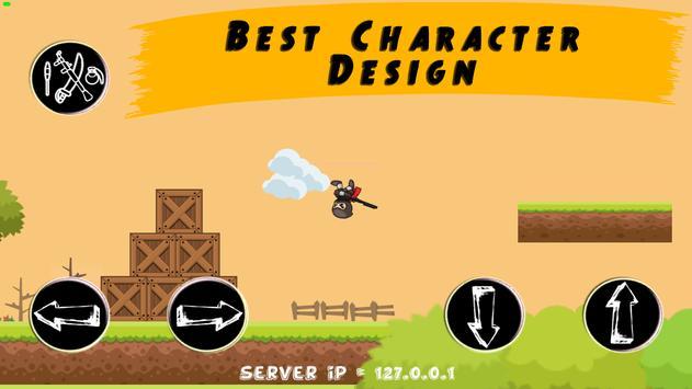 Modern Combat: Stickman Paintball | wifi hotspot screenshot 1
