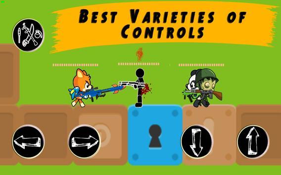 Modern Combat: Stickman Paintball | wifi hotspot screenshot 22