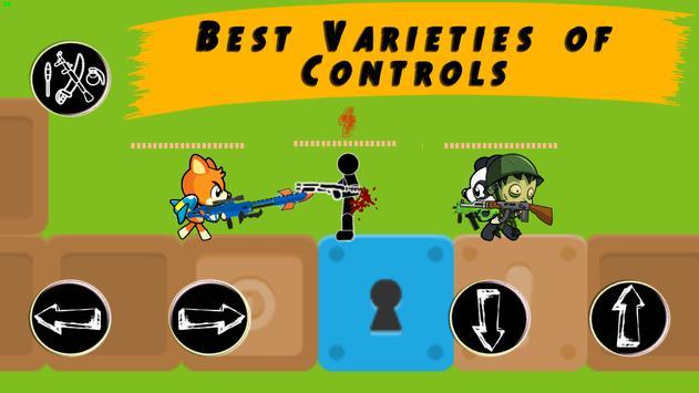 Modern Combat: Stickman Paintball | wifi hotspot screenshot 6