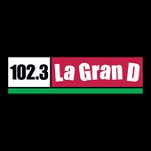 102.3 La GranD icon