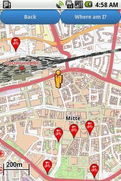Dortmund Amenities Map (free) poster