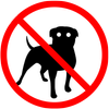 Anti dog sound icono