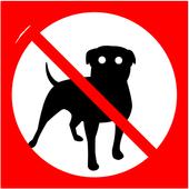 Anti dog sound 图标