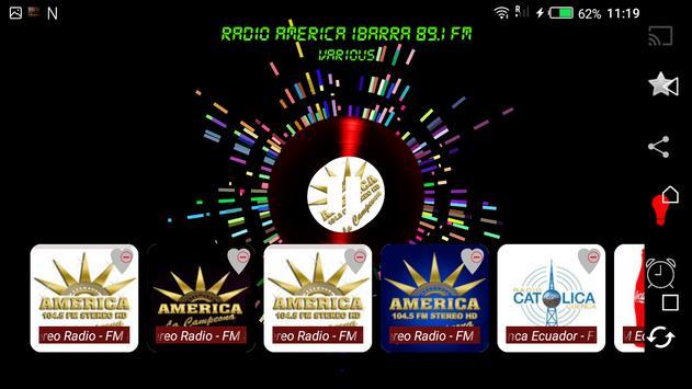 Radios FM Ecuador screenshot 1