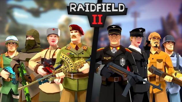 Raidfield 2 - Online WW2 Shooter Cartaz