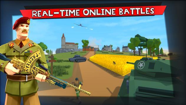Raidfield 2 - Online WW2 Shooter imagem de tela 1