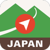 Japan Alps Hiking Map icono