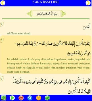 Al Quran Terjemahan Indonesia MP3 screenshot 5