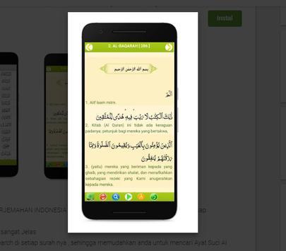 Al Quran Terjemahan Indonesia MP3 screenshot 2