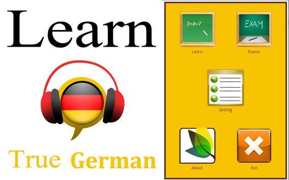 Learn German Conversation :AR poster