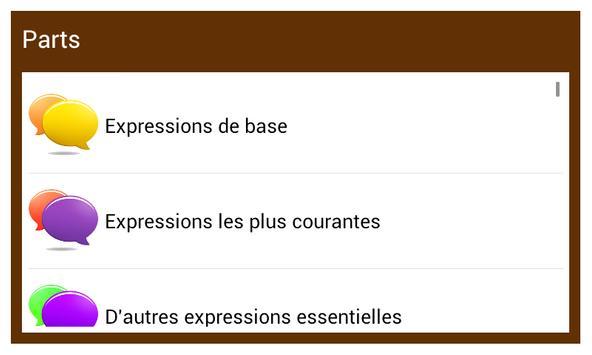 Learn English Conversation :FR screenshot 1