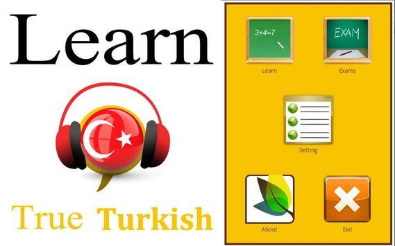 Learn Turkish Conversation :AR poster