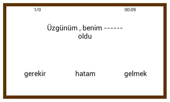 Learn Turkish Conversation :AR screenshot 4
