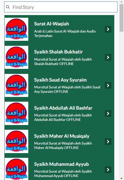 Surat Al Waqiah Offline Dan Juz Amma For Android Apk Download