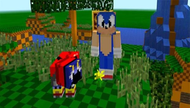 The Hedgehog  Sonic Pack for MCPE screenshot 2