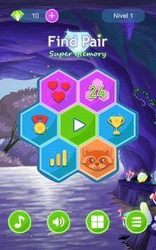 Encuentra las Parejas. ¡Súper Memoria! captura de pantalla 7