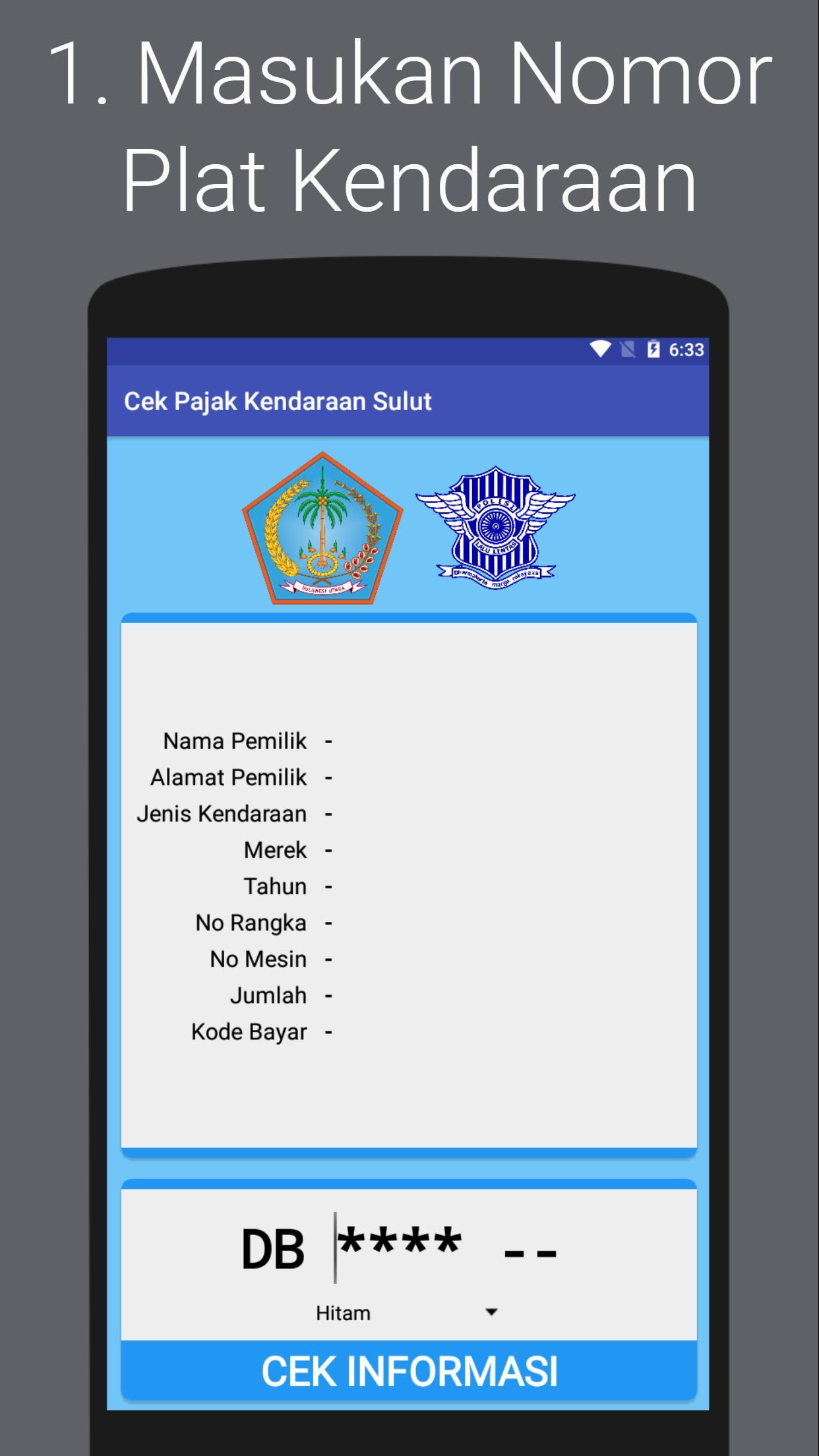 Cek Pajak Kendaraan Sulawesi Utara Online For Android Apk Download