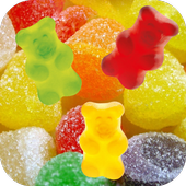 Jelly and Candy Live Wallpaper icon