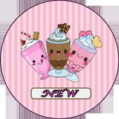 how to draw MilkShake cute icon