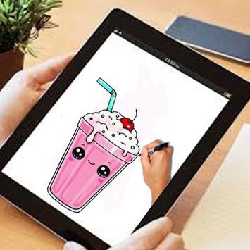 how to draw MilkShake cute screenshot 2
