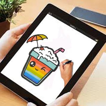 how to draw MilkShake cute screenshot 4