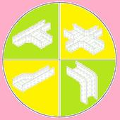 Cable  trays  size calculator &Cable trays details icon