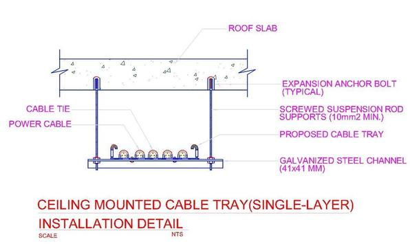 Cable  trays  size calculator &Cable trays details screenshot 4