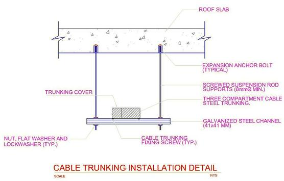 Cable  trays  size calculator &Cable trays details screenshot 5