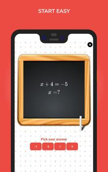 Algebra for Beginners स्क्रीनशॉट 2