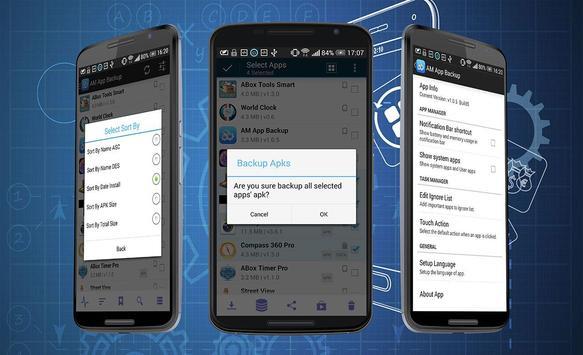 App Backup AAM screenshot 2