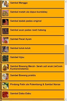 Resep Sambal Asli screenshot 4