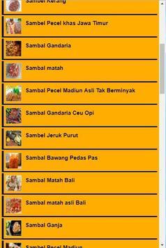 Resep Sambal Asli screenshot 1