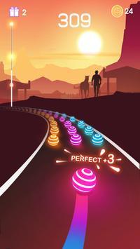 Dancing Road capture d'écran 1