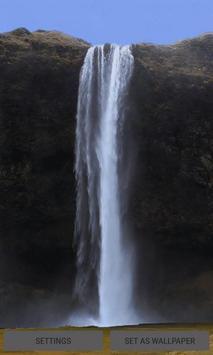 Waterfalls Live Wallpaper poster