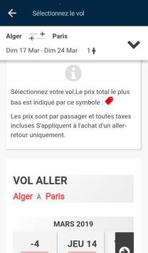 Air Algérie screenshot 6