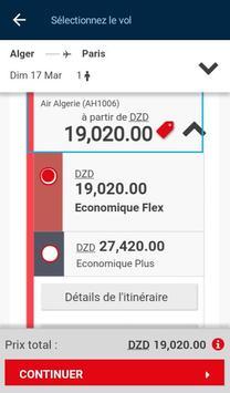 Air Algérie screenshot 7