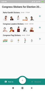 Rahul Gandhi Stickers for Indian Election 2019 screenshot 4