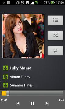 reproductor de música captura de pantalla 1