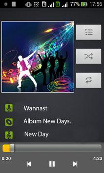reproductor de música captura de pantalla 4