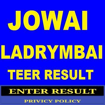 Jowai Ladrymbai Teer poster