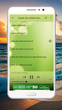 Cantos Trinca Ferro Brazilios screenshot 5
