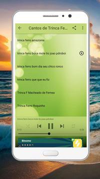 Cantos Trinca Ferro Brazilios screenshot 1