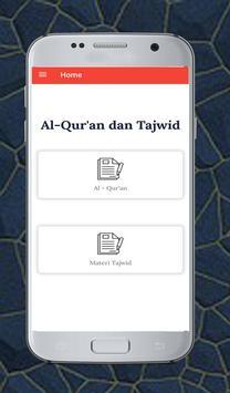Al Quran dan Tajwid Tanpa Internet poster