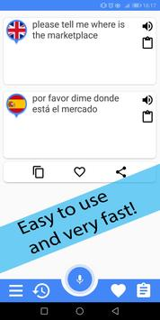 Spanish English Translator screenshot 1