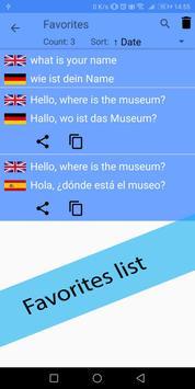 Hungarian German Translator screenshot 6