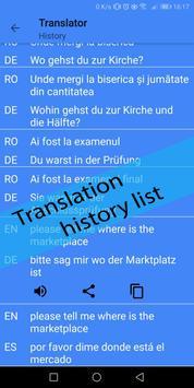 German Norwegian Translator screenshot 6