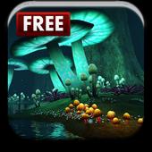 Magic Mushroom Live Wallpaper icon